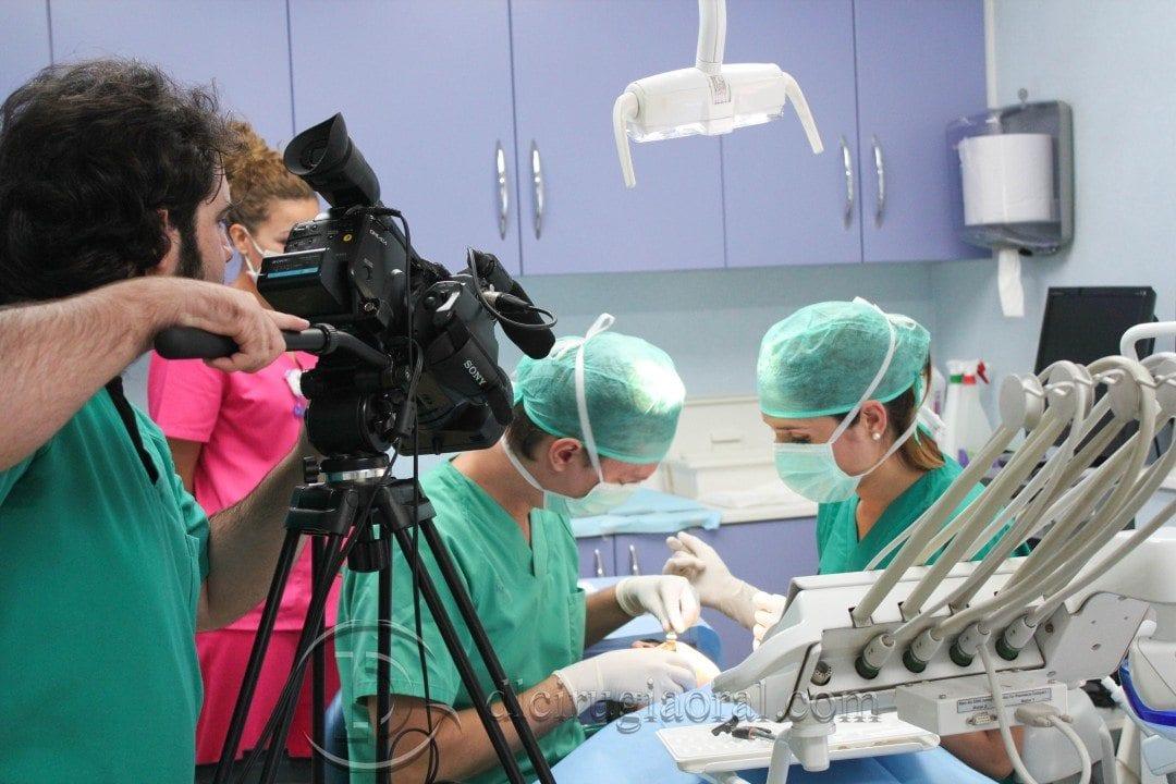 Terminado el curso de cirugía en directo