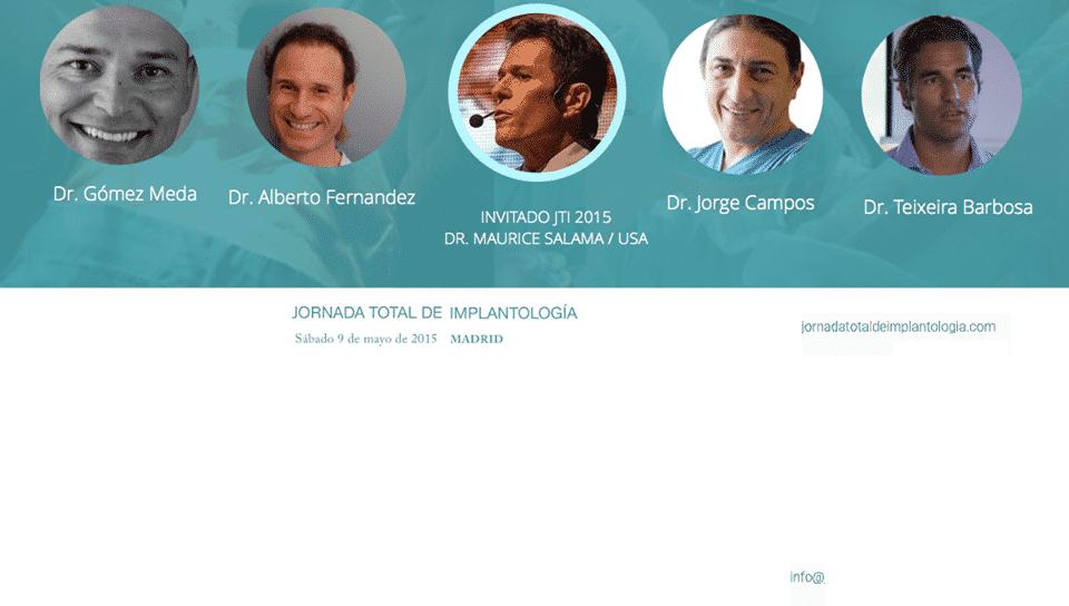 Jornada Total Implantología el 9 Mayo 2015 en Madrid