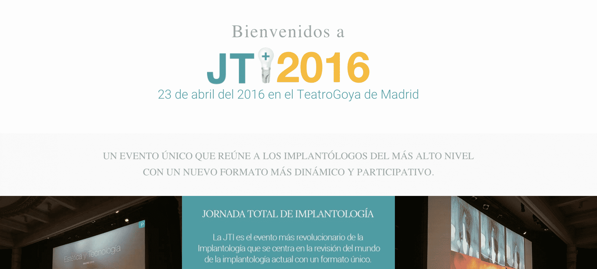 Jornada Total de Implantología 2016