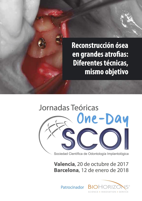 Jornadas en Cirugía Reconstructiva con la SCOI